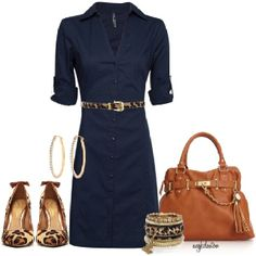 Omg NAVY with LEOPARD!? Yes Please!! I need a shirt dress and this is perfect!