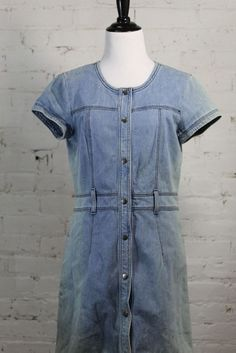 Theory Women's Blue Jeans Denim Jeans Dress 6 #Theory #Casual