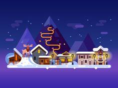 Winter Sweden by TastyVector