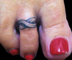1000 images about toe ring tattoos on pinterest toe for Toe tattoos pinterest