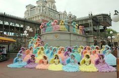 Mobile Azalea Trail Maids of 2006-2007 at Walt Disney World