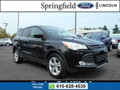 2013 Ford Escape SE 33k miles $17,777 33718 miles 610-628-4539 Transmission: Automatic  #Ford #Escape #used #cars #SpringfieldFord #Springfield #PA #tapcars