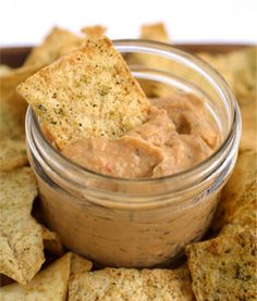 Homemade Smokey Chipotle Hummus. Secret ingredient: Chipotle Pepper Tabasco