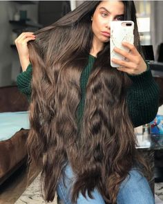 💈 men and women hairstyles💈 ( Long Black Hair, Very Long Hair, Long Hair Cuts, Long Hair Styles, Beautiful Long Hair, Gorgeous Hair, Braided Hairstyles, Cool Hairstyles, Donating Hair