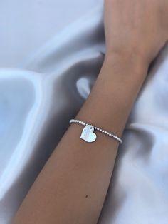 Silver Beaded Bracelet • Bead Bracelet • Stacking Bracelet • Diamond Cut Beads Bracelet • Handmade Bracelet • Silver Ball Bracelet • Amber's Diamond Bracelets, Beaded Bracelets, Luxury Jewelry, Unique Jewelry, Sterling Silver Bead Bracelet, Silver Bracelets For Women, Handmade Bracelets, Handmade Gifts, Silver Beads