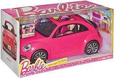 Barbie Volkswagen Beetle in Dolls. Barbie Car, Barbie Doll House, Barbie Dolls, Volkswagen, American Girl Doll Hospital, Ariel Doll, Beetle Car, Cabriolet, Lol Dolls