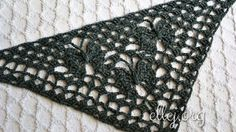 Moon Butterfly Crochet Shawl