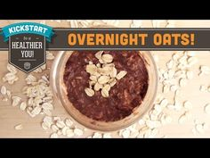 MUST TRY- No Cook- Overnight Oats - Cocoa-Nut Banana! Mind Over Munch Kickstart Series - YouTube