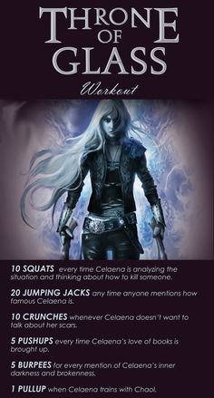 Throne of Glass themed workout!