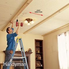 Diy Coffered Ceiling Project Coffer Ceiling And Beams