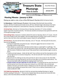 Click the link to view our entire January 4, 2016 newsletter: http://treasurestatemustangclubgf.weebly.com/uploads/2/6/9/1/26917180/january_2016_newsletter_-_treasure_state_mustang_club_-_great_falls_mt.pdf