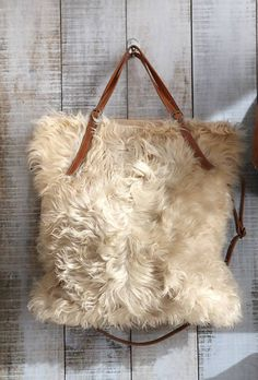 mongolian wooly bag, yes please
