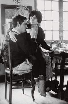 Agnès Varda et Jacques Demy en 1965. Photo: Pierre Boulat/Cosmos