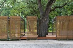 New-Orleans-Botanical-Garden-Duplantier-Volunteer-Pavilion … - Garten Design Pavilion Architecture, Landscape Architecture, Landscape Design, Architecture Design, Chinese Architecture, Architecture Office, Futuristic Architecture, Sustainable Architecture, Residential Architecture