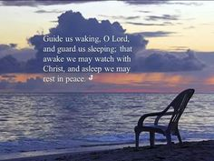 Guide us waking