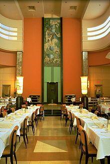 Restaurant du (Eaton& Restaurant) – Art Deco restaurant in Montreal Architecture Art Nouveau, New Architecture, Montreal Architecture, Art Deco Period, Art Deco Era, Art Nouveau Arquitectura, Deco Restaurant, Restaurant Montreal, Restaurant Design