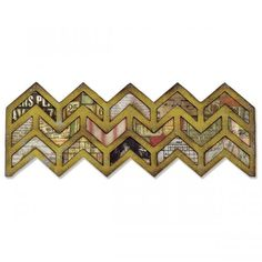 Sizzix Frameworks Border Die by Tim Holtz® - Chevron