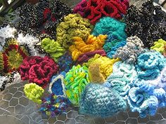 The Maine Reef: Basic Hyperbolic Crochet Patterns