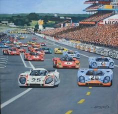 Start Le Mans 70