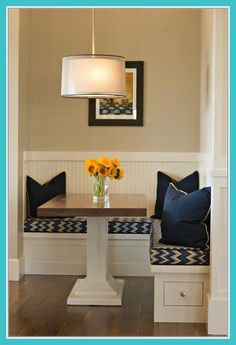 Dining Room Corner Bench - Dining Room Corner Bench, Corner Kitchen Table with Bench Plans with Images Kitchen Table With Storage, Nook Furniture, Dining Room Corner, Kitchen Corner Bench Seating, Apartment Table, Dining Room Remodel, Storage Bench Seating, Home Decor