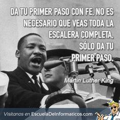 Martin Luther King #motivación #tecnología