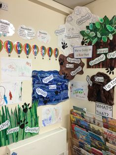 We're Going on a Bear Hunt EYFS Reading Area Display