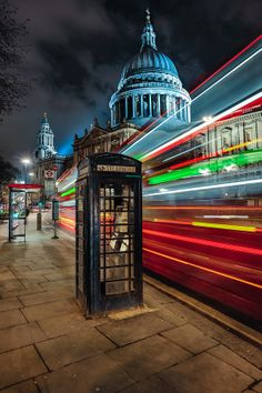 London's St Paul's Cathedral - Winter's Night