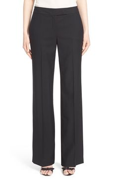 Nordstrom Signature and Caroline Issa Wool Suiting Pants $395.00  #Reviews #prett #WomensClothing