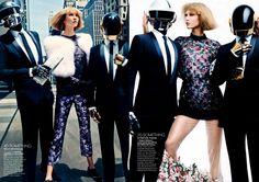 Daft Punk in Vogue