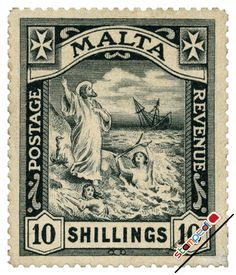 England Postage Stamps | Stamp Catalogue TOP> British Colony Malta Stamp Catalogue > 1919issue ..