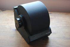 Vintage Metal Rolodex File/Vintage Office/Round Rolodex