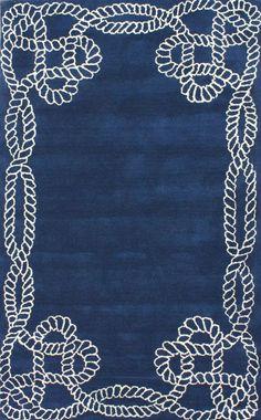 Rugs USA Satara Lasso Royal Blue Rug