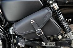 SADDLE BAG SADDLEBAG HARLEY DAVIDSON  SPORTSTER MODELS ITALIAN LEATHER HANDMADE