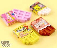 Kawaii Pens, Kawaii Cute, Kawaii Stationery, Stationery Items, Eraser Collection, Cool Stationary, American Chocolate, Cool School Supplies, Kawaii Jewelry