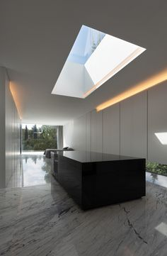 Aluminum House by Fran Silvestre Arquitectos in Madrid, Spain - a modern home that contrasts and blends with its environment simultaneously. Contemporary Architecture, Interior Architecture, Spanish Architecture, Architecture Magazines, Minimal Home, Big Houses, Modern Interior Design, Future House, New Homes
