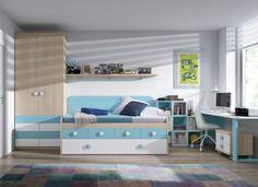 Dormitorio juvenil 80 - Tienda de muebles de Badajoz y Extremadura - Stanzia Muebles