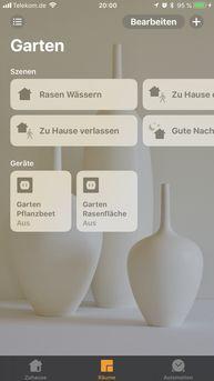 Apple HomeKit, Bewässerung HomeKit, Gartenbewässerung, Steuerung Apple HomeKit