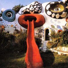 Niki de Saint Phalle - Tarot Garden