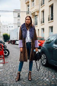 NADJA BENDER - SS17 PFW - Model's look: lo stile delle modelle a Parigi - Vogue.it
