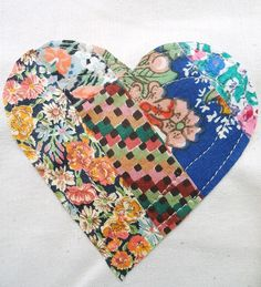 modflowers: patchwork hearts