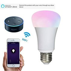 Wifi Smart Led Light bulb Work with Amazon alexa Home Aut... https://www.amazon.co.uk/dp/B01MQPSD8C/ref=cm_sw_r_pi_dp_x_hStwzbXFSVCEH