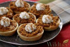 Wildtree's Butterscotch Pumpkin Cheesecake Pies Recipe http://www.mywildtree.com/JILLBUCK/