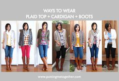 Putting Me Together: The Plaid & Boots Formula