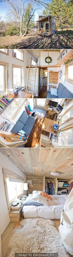 eco tiny house 160sf - created via http://pinthemall.net ~ Great pin! For Oahu architectural design visit http://ownerbuiltdesign.com