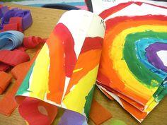 Rainbow windsocks