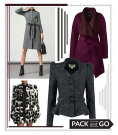 """""""Don't Forget to Pack a Coat"""" by gracecar3 on Polyvore featuring Lands' End, Collectif and Marc Jacobs"""