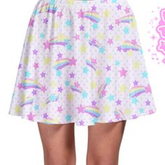 ✨ starry party white skater skirt ✨ super sale series ✨ made to order ✨ fairy…