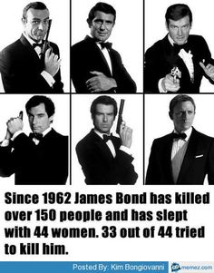 James Bond fact