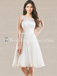 553415c3f4a0 Find a lace short wedding dress to get attention of everyone. Custom  alteration is available