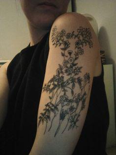 Arm tattoos, deer tattoos, girls with tattoos